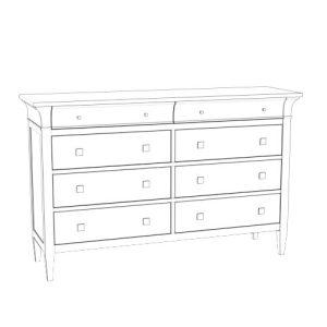 Jordan Drawer Dresser Potrait