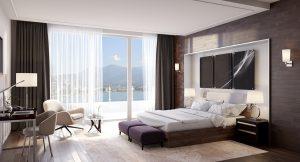 Furnished Hotel Room