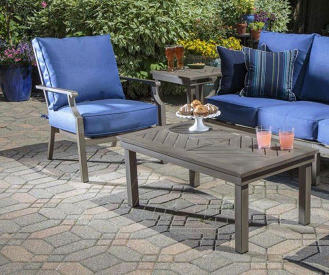 Grid Outdoor Sofa Set