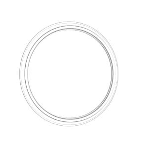 Round Mirror Potrait